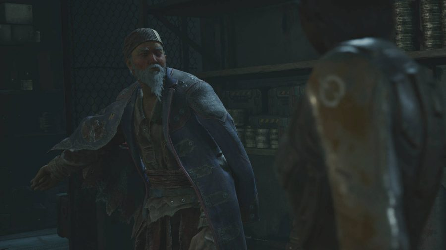 This vendor in Outriders begins one of the earliest side quests