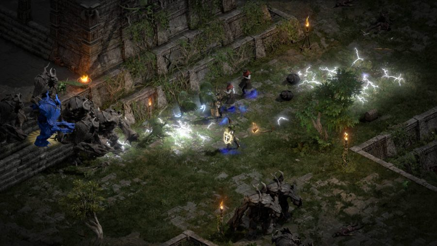 Diving through dungeons in our Diablo 2: Resurrected review