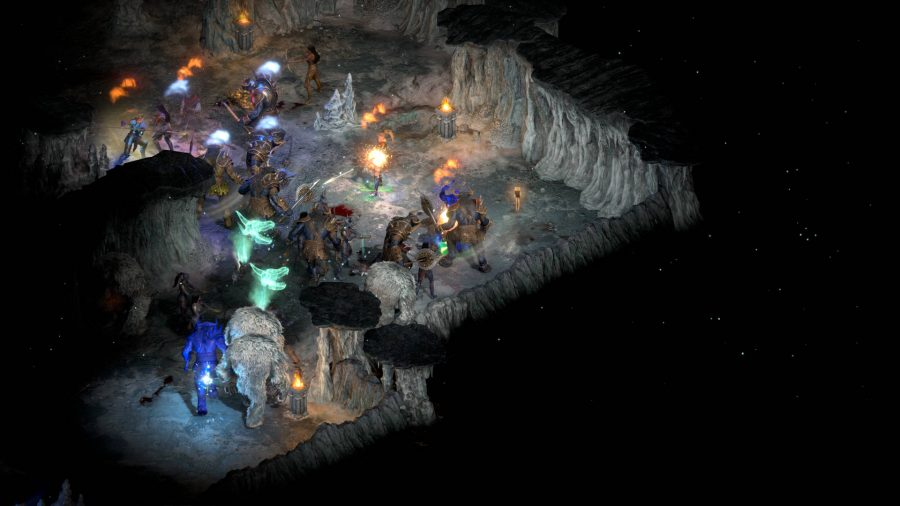 A chaotic brawl in our Diablo 2: Resurrected review